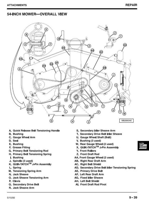 Third Additional product image for - John Deere 355D (SN. 085001-) Lawn and Garden Tractors Technical Service Manual (tm1771)