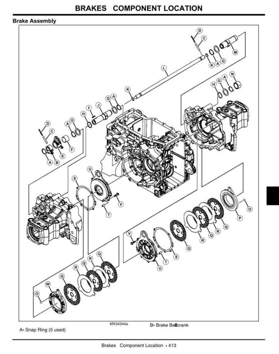 Fourth Additional product image for - John Deere 4105 Compact Utility Tractors All Incliusive Technical Service Manual (tm102419)