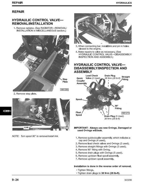 Fourth Additional product image for - John Deere  425, 445 & 455  Lawn and Garden Tractors All Inclusive Technical Service Manual (tm1517)