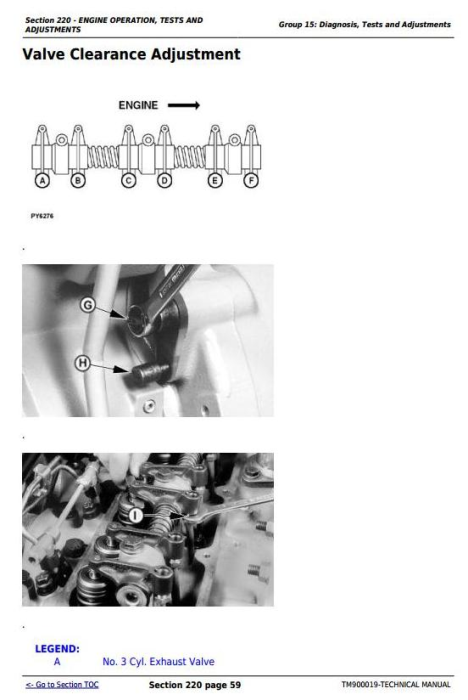 Fourth Additional product image for - Deere 5103, 5203, 5303, 5403, 5045, 5055, 5065, 5075, 5204 Tractors Technical Manual (TM900019)