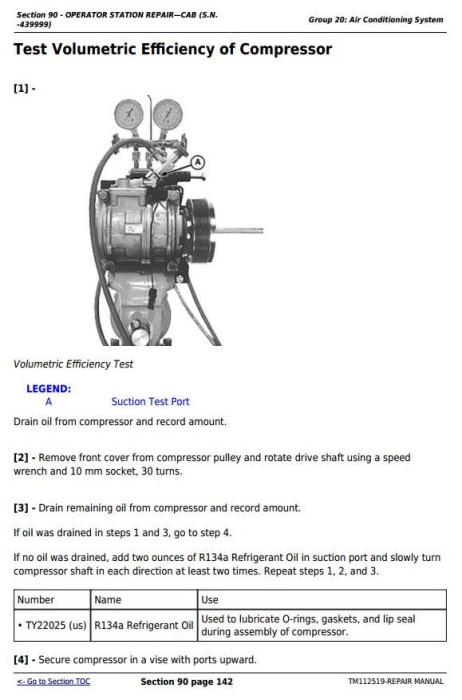 Second Additional product image for - Deere Tractors 5083E, 5093E, 5101E and Limited Models Service Repair Manual (TM112519)