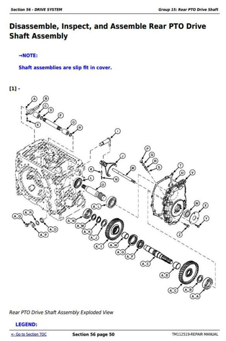 Fourth Additional product image for - Deere Tractors 5083E, 5093E, 5101E and Limited Models Service Repair Manual (TM112519)