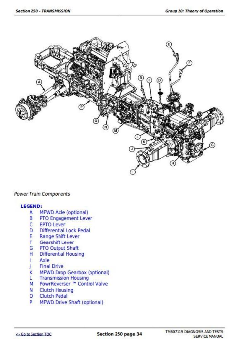 Second Additional product image for - Deere Tractors 5083E and 5093E Diagnostic and Tests Service Manual (TM607119)