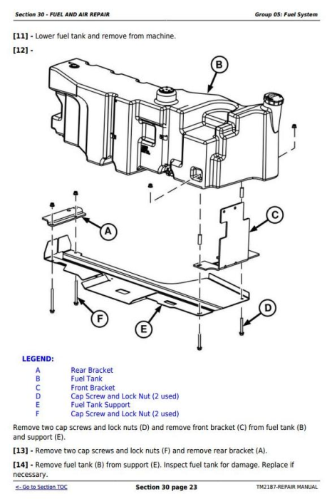 Fourth Additional product image for - Deere Tractors 5225, 5325, 5425, 5525, 5625, 5603 Service Repair Technical  Manual (TM2187)