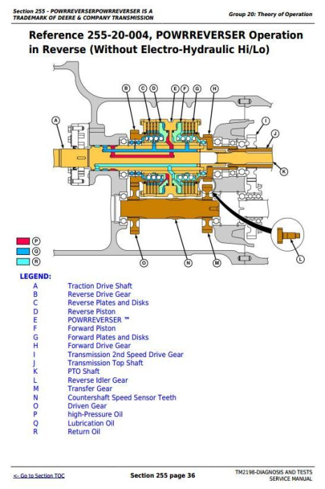 Second Additional product image for - Deere Tractors 5325N, 5425N and 5525N (Worldwide) Diagnostic and Tests Service Manual (TM2198)