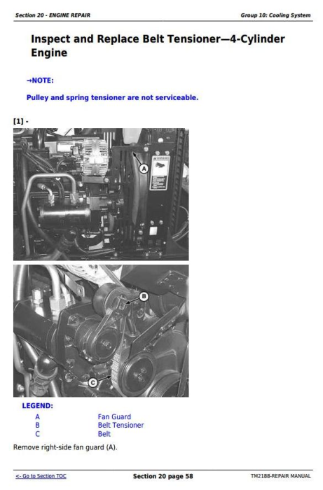 Fourth Additional product image for - John Deere Tractors 5325N, 5425N and 5525N USA Service Repair Technical  Manual (TM2188)