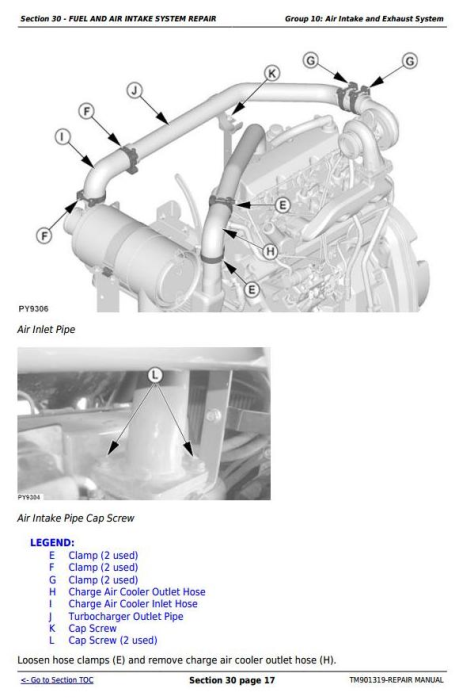 Second Additional product image for - Deere Tractors 5055E, 5065E & 5075E (Europe) Technical Repair Service Manual (TM901319)