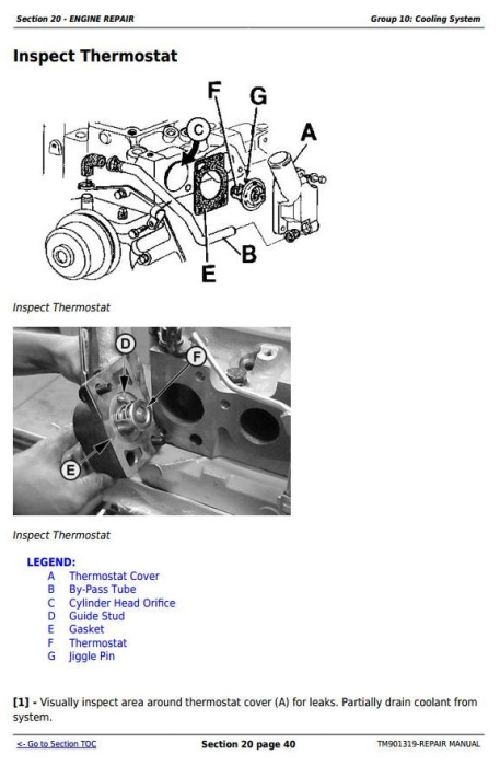 Third Additional product image for - Deere Tractors 5055E, 5065E & 5075E (Europe) Technical Repair Service Manual (TM901319)