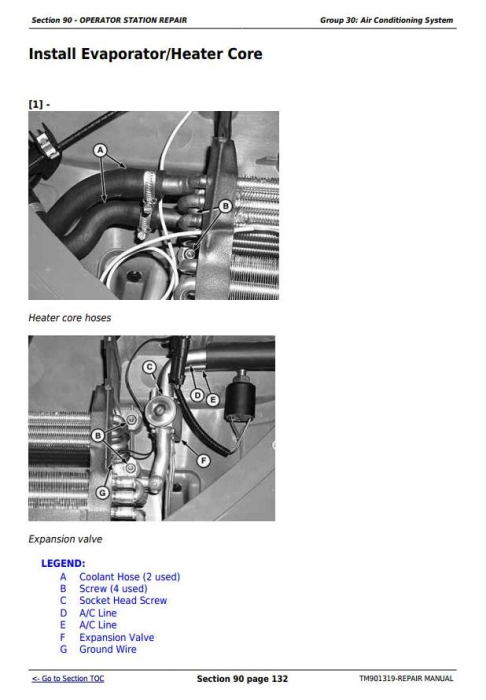 Fourth Additional product image for - Deere Tractors 5055E, 5065E & 5075E (Europe) Technical Repair Service Manual (TM901319)