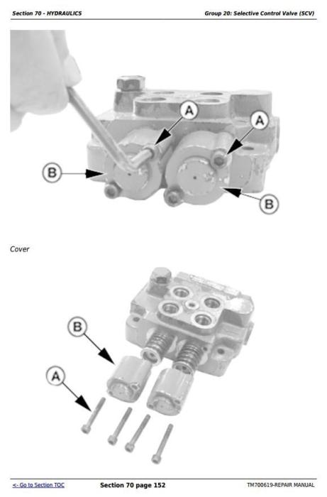 Third Additional product image for - John Deere 904, 1054, 1204, 1354, 1404 China Tractors Service Repair Manual (TM700619)