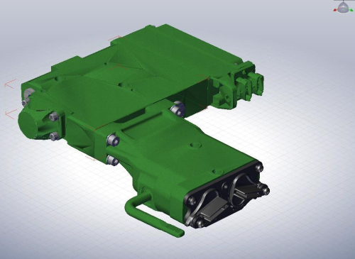 Third Additional product image for - John Deere 7200R, 7215R, 7230R, 7260R, 7280R Tractors Service Repair Manual (TM110119)