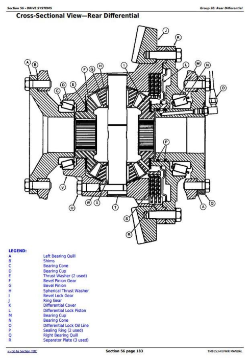 Fourth Additional product image for - John Deere 7210, 7410, and 7510 2WD or MFWD Tractors Service Repair Manual (TM1653)