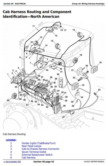 Third Additional product image for - John Deere 8100T, 8200T, 8300T, 8400T, 8110T, 8210T, 8310T, 8410T Tractors Service Repair Manual (tm1621)