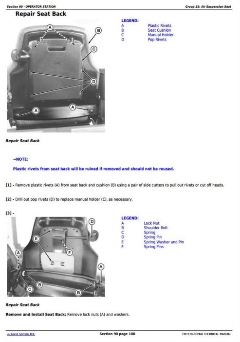 Third Additional product image for - John Deere 8120, 8220, 8320, 8420, 8520 (Worldwide Edition) Tractors Service Repair Manual (TM1970)