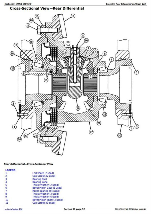 Fourth Additional product image for - John Deere 8120, 8220, 8320, 8420, 8520 (Worldwide Edition) Tractors Service Repair Manual (TM1970)