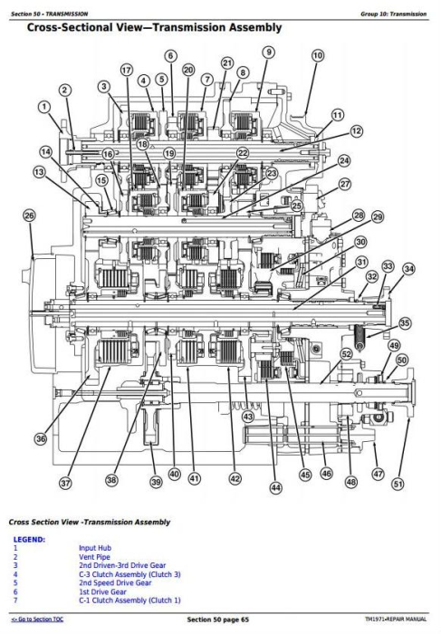 Third Additional product image for - John Deere 8120T, 8220T, 8320T, 8420T & 8520T Tracks Tractors Service Repair Manual (TM1971)
