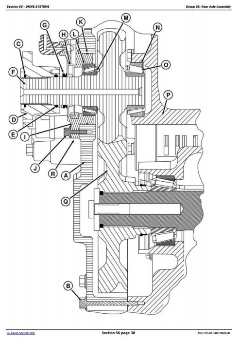 Second Additional product image for - John Deere 8230T, 8330T and 8430T Track Tractors Service Repair Technical Manual (TM2205)