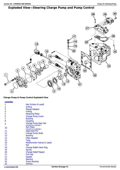 Fourth Additional product image for - John Deere 8230T, 8330T and 8430T Track Tractors Service Repair Technical Manual (TM2205)