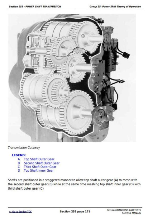 Fourth Additional product image for - John Deere 9100, 9200, 9300, 9400 4WD Tractors Diagnosis and Tests Service Manual (tm1624)