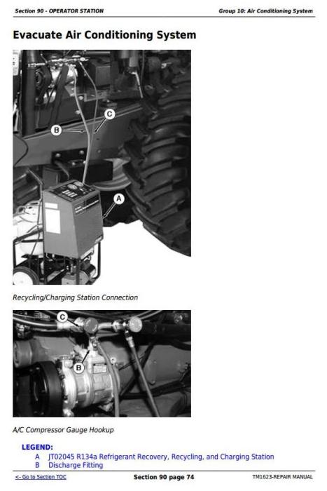 Third Additional product image for - John Deere 9100, 9200, 9300, 9400, 9120, 9220, 9320, 9420, 9520, 9620 Tractors Repair Manual (TM1623)