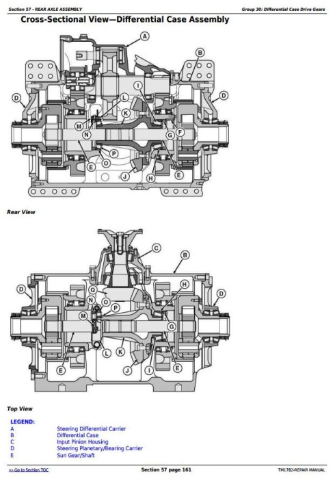 Third Additional product image for - John Deere 9300T, 9400T, 9320T, 9420T, 9520T, 9620T Tracks Tractors Service Repair Manual (TM1782)