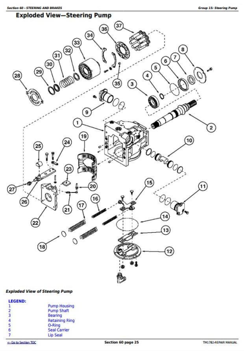 Fourth Additional product image for - John Deere 9300T, 9400T, 9320T, 9420T, 9520T, 9620T Tracks Tractors Service Repair Manual (TM1782)