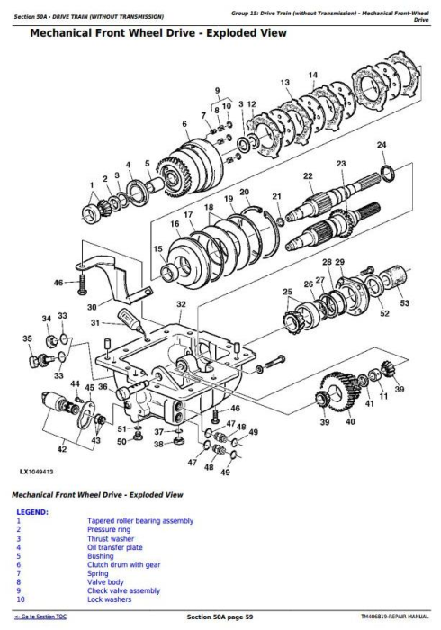 Third Additional product image for - John Deere 6110R, 6120R, 6130R and 6135R (Final Tier 4) Tractors Service Repair Manual (TM406819)