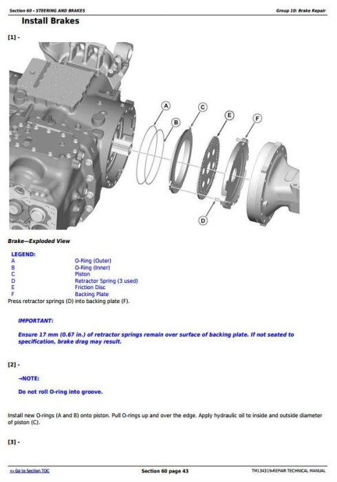 Second Additional product image for - 5085M, 5100M, 5100MH, 5100ML, 5115M, 5115ML (FT4) Tractor Service Repair Manual (TM134319)
