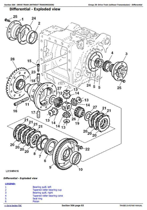 Third Additional product image for - John Deere 6110M, 6120M, 6130M, 6135M, 6140M, 6145M Tractors Service Repair Manual (TM408519)