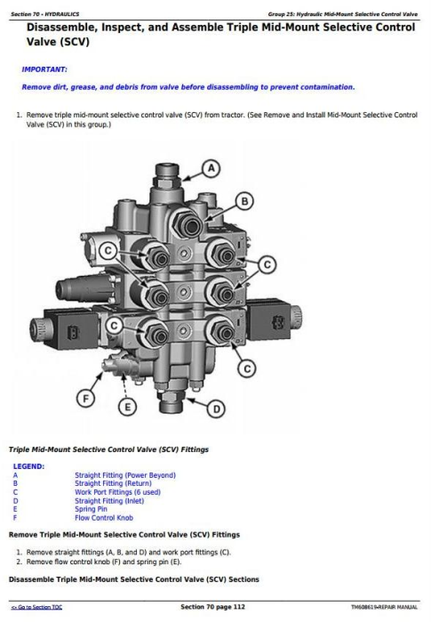 Third Additional product image for - John Deere 6105E, 6120E, 6135E Final Tier IV (from 10.2015) Tractors Service Repair Manual (TM608619)