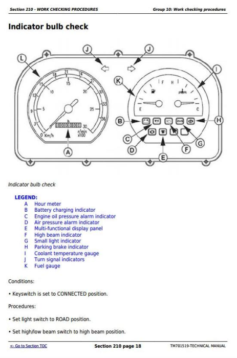 Second Additional product image for - Deere Tractors 500, 504, B550 and B554 (China) All Inclusive Technical Service  Manual (TM701519)