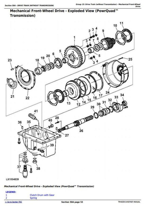 Third Additional product image for - John Deere 6140R, 6150R, 6150RH, 6170R, 6190R, 6210R, 6210RE Tractor Service Repair Manual (TM403919)