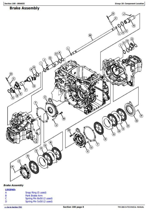 Fourth Additional product image for - Deere 3033R, 3038R, 3039R, 3045R, 3046R Compact Utility Tractors Technical Service Manual (TM130619)