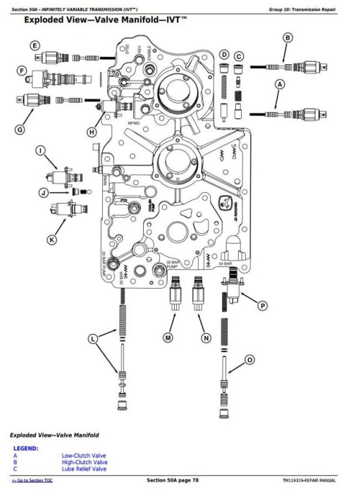 Second Additional product image for - John Deere 8320RT, 8345RT, 8370RT 8RT RW (S.N.: 912001-) Tractors Service Repair Manual (TM119319)