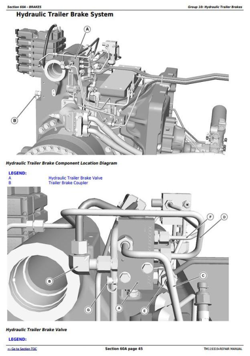 Third Additional product image for - John Deere 8320RT, 8345RT, 8370RT 8RT RW (S.N.: 912001-) Tractors Service Repair Manual (TM119319)