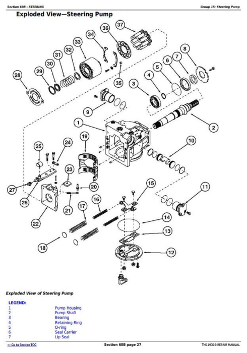 Fourth Additional product image for - John Deere 8320RT, 8345RT, 8370RT 8RT RW (S.N.: 912001-) Tractors Service Repair Manual (TM119319)