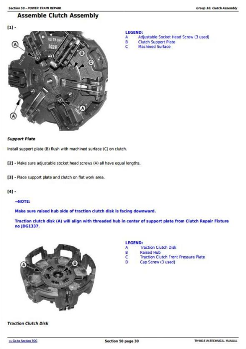 Second Additional product image for - John Deere 5055E, 5065E, 5075E Asia, Africa, Middle East Edition Tractors Technical Manual (TM901819)