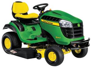 john deere s240 riding lawn tractor (north america) all inclusive technical service manual (tm134619)