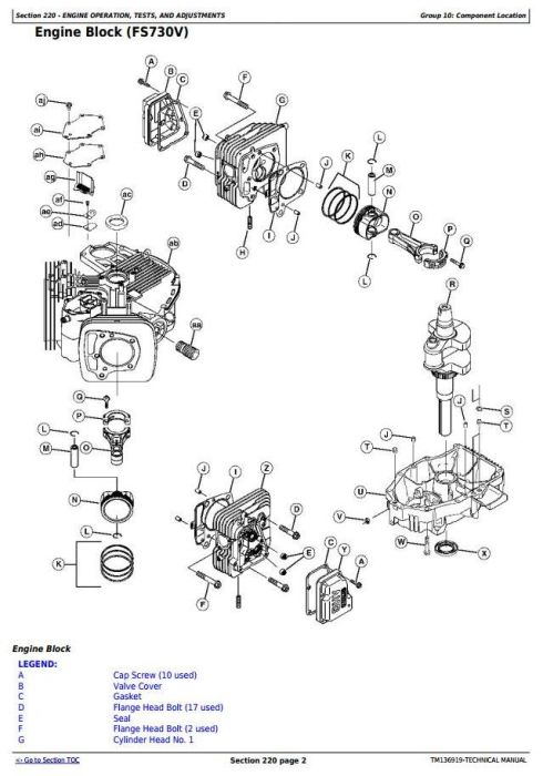 Third Additional product image for - John Deere X590 Multi-Terrain Select Series Tractors (SN.100001-) Technical Service Manual (TM136919)