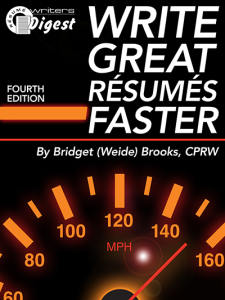 write great resumes faster
