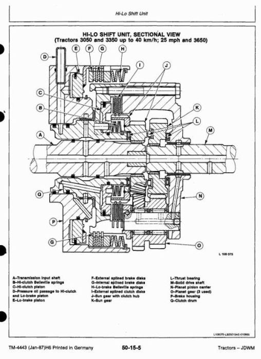 Third Additional product image for - John Deere 3050, 3350, 3650 Tractors Service Repair Technical Manual (tm4443)