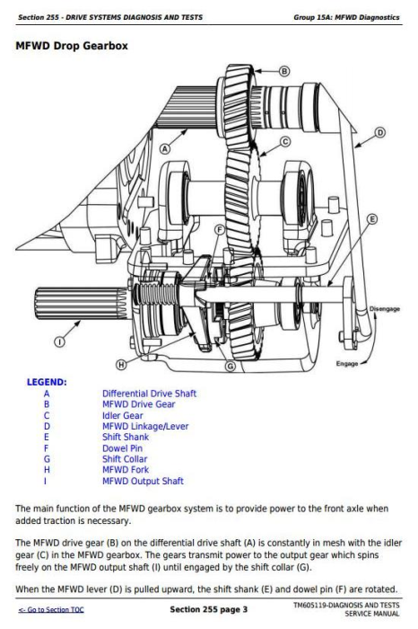 Second Additional product image for - John Deere Tractors 6100D, 6110D, 6115D, 6125D, 6130D, 6140D Diagnostic & Tests Service Manual (TM605119)