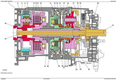 Second Additional product image for - John Deere Tractor 6145J, 6165J, 6180J, 6205J Diagnostic and Tests Service Manual (TM801419)