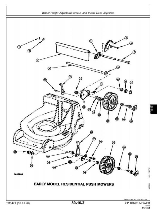 Fourth Additional product image for - John Deere Mowers 12PB 12PC 12SB 14PB 14PT 14PZ 14SB 14SC 14SE 14ST 14SX 14SZ Technical Manual (TM1471)