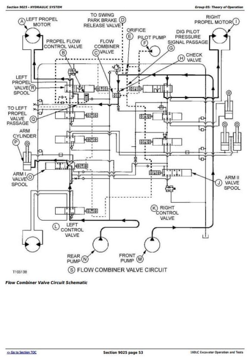 Fourth Additional product image for - John Deere 160LC Excavator Diagnostic, Operation and Test Service Manual (tm1661)