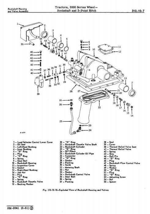Fourth Additional product image for - John Deere 3010 Wheel Tractors Technical Service Manual (sm2041)