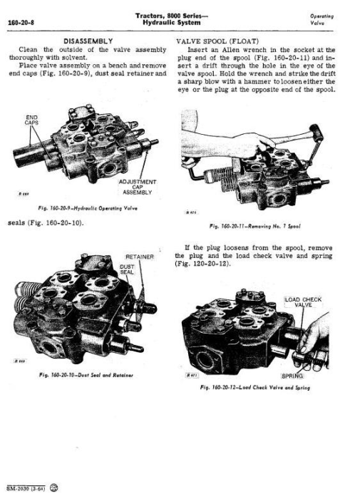 Fourth Additional product image for - John Deere 8010, 8020  2WD or MFWD Tractors All Inclusive Technical Service Manual (sm2030)