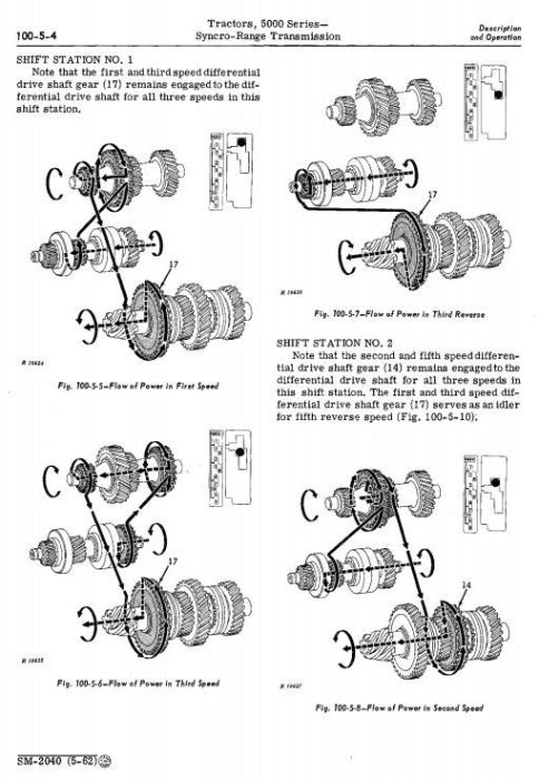 Third Additional product image for - John Deere 5010, 5020 Tractors Diagnostic and Repair Technical Service Manual (sm2040)