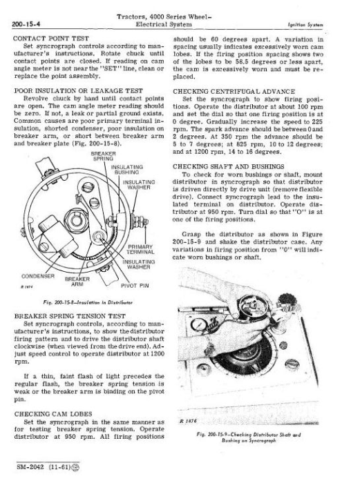 Third Additional product image for - John Deere 4010 Tractors Service Technical Manual (sm2042)