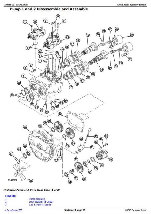Second Additional product image for - John Deere 160DLC Excavator Service Repair Manual (TM10091)